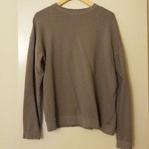 Zara oversized Basic Sweatshirt Size M